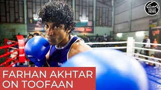 Bollywood star Farhan Akhtar brings on the punches in 'Toofan'