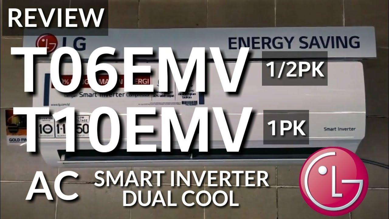 Review AC LG INVERTER T06EMV 1 2pk