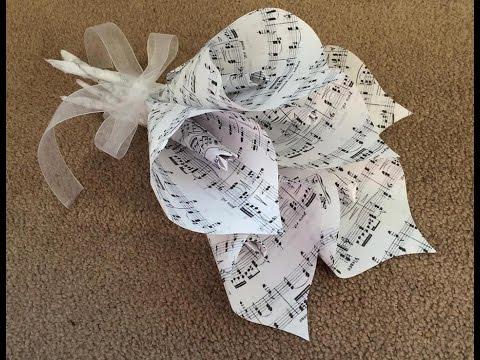 DIY Paper Calla Lily Flower