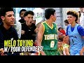LaMelo Ball TOYING w/ Defenders w/ Lonzo Watching! Big Ballers SPANK Poor Australian Team 😕