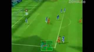 FIFA 10 Nintendo Wii Gameplay