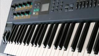Yamaha AN1X trance sound. DJ Ayk  -  Hold Me Baby (S.G.B. remix)