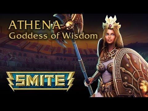 Smite Athena Wallpaper - WallpaperSafari
