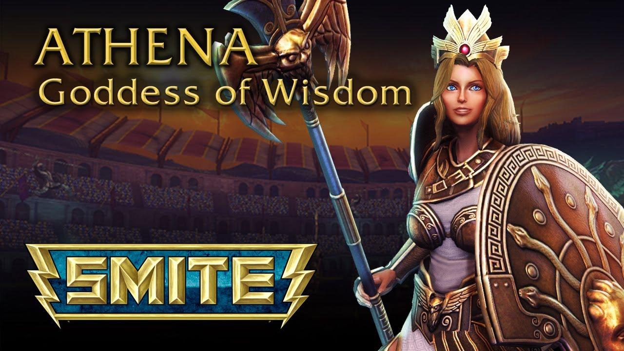 smite god reveal athena goddess of wisdom youtube