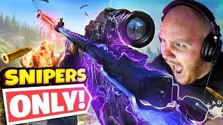 SNIPER ONLY SQUAD! CHALLENGE!! Ft. CouRageJD, Nickmercs & SypherPK