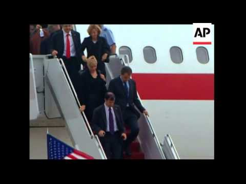 World leaders arrive for summit; France, UK and Turkey