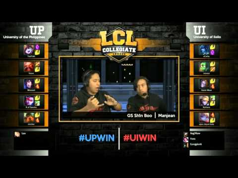 LCL 2016 Spring Term - Semi Finals - UP vs UI Best of 3: Game 1