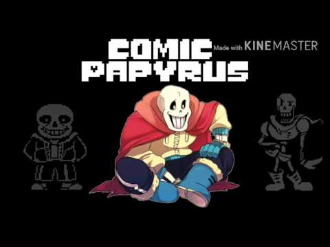 Comic Papyrus - Megalovania x Bonetrousle Piano Cover  (Almost Unknown AU)