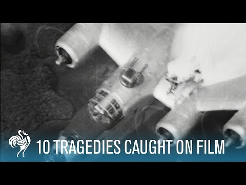 10 More Tragedies Caught on Film | British Pathé