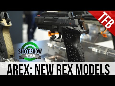 [SHOT 2018] The Arex Rex Alpha and Rex Zero 1 Compact Tactical