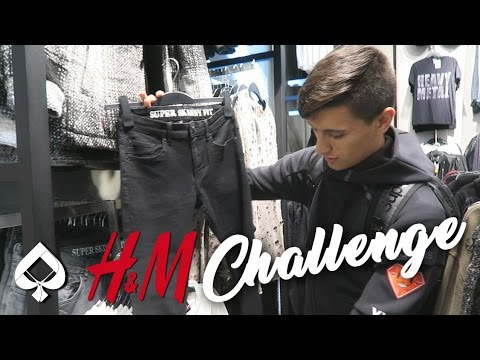 $75 H&M OUTFIT CHALLENGE with a TWIST!