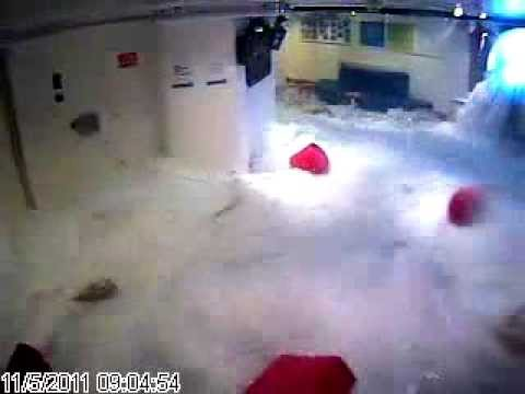 Rough Weather - Carnival Cruise Lines - Interior Flooding