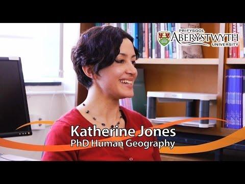Postgrad Student Talks: Katherine Jones, PhD Human Geography