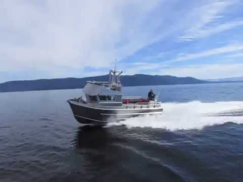 26.5 Knot Drive By - Strongback Metal Boats