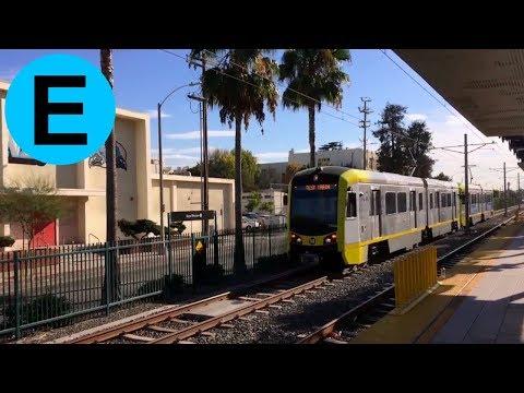 LA Metro Expo Line - Kinki Sharyo P3010 @ Expo/Western
