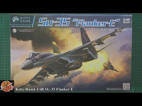 Kitty Hawk 1/48 SU-35 Flanker E review