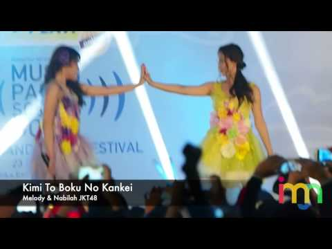 [IMJN] 140223 JKT48 Melody & Nabilah - Kimi To Boku no Kankei