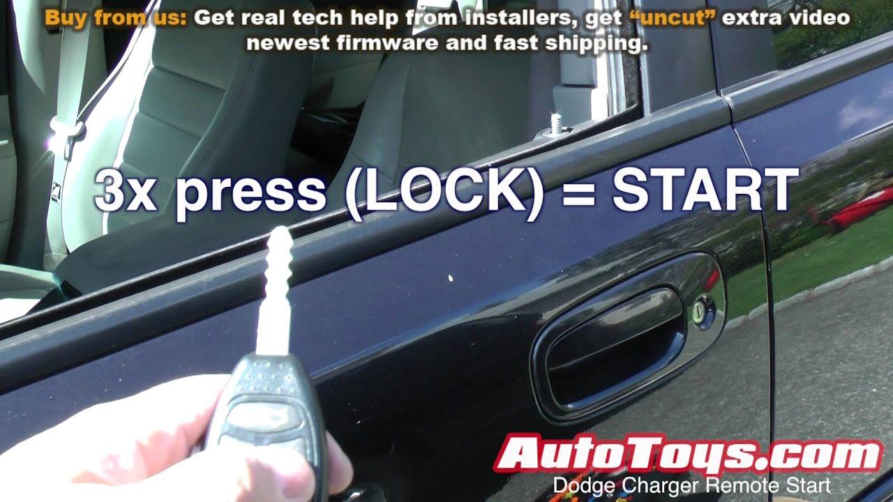 Dodge Charger Remote Start Factory By Autotoys Youtube Helpremotestartusingxpresskitremotestartwiringjpg