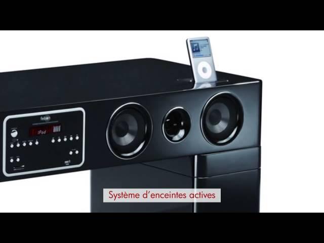 meuble tv watts avec systeme audio
