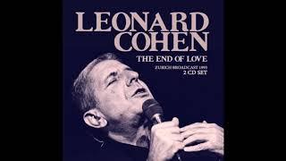 Leonard Cohen   Live: 1993.05.23   Zurich Switzerland