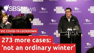 COVID-19: Victoria records 273 more cases, another death   SBS News