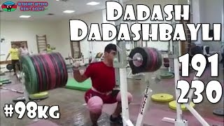 Dadash Dadashbayli (AZE, 105KG) | Olympic Weightlifting Training | Motivation