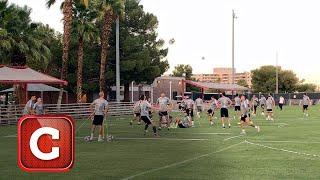 Entrenan los Tigres en Las Vegas previo a la Final de la Leagues Cup