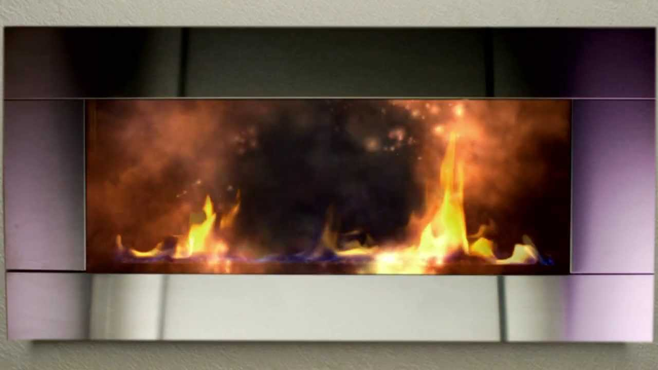 optik fire log vs modern fireplace youtube