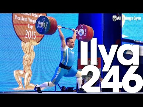 Ilya Ilyin 246kg Clean & Jerk World Record 2015 President
