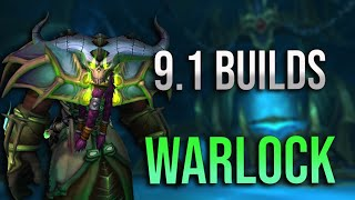 Talking 9.1 Warlock Specs and New Builds! What To Expect in Both Mythic + and Raiding