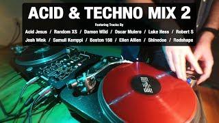 Acid & Techno Mix 2 | With Tracklist | Vinyl Mix