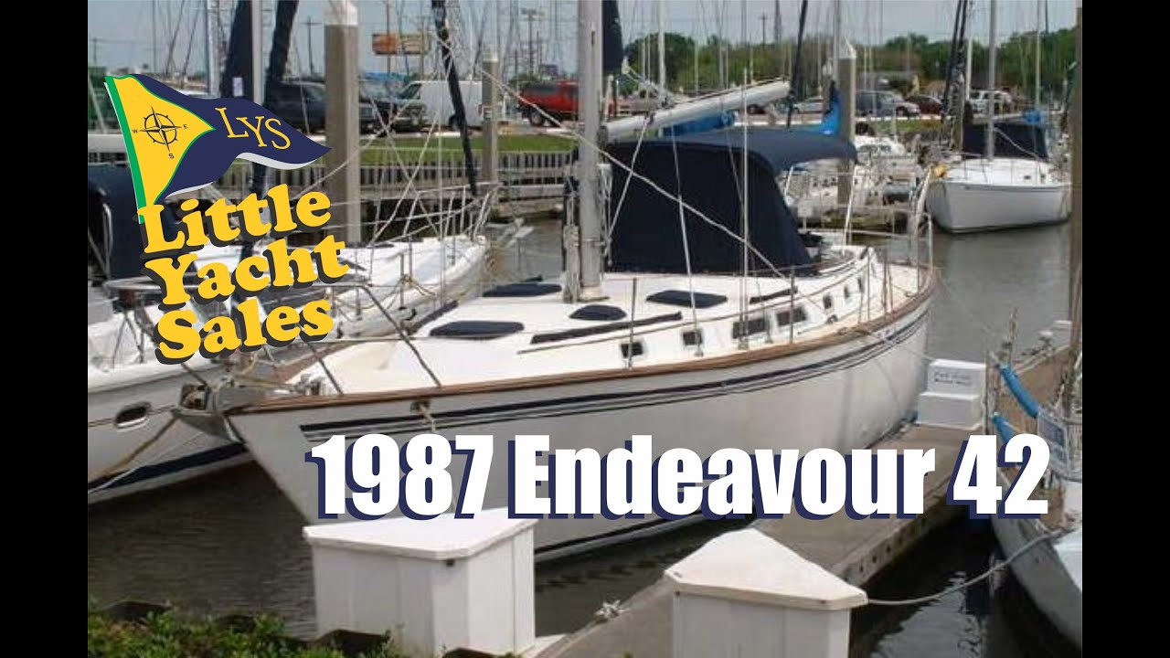 SOLD 1987 Endeavour 42 Sailboat For Sale At Little Yacht Sales Kemah Texas YouTube
