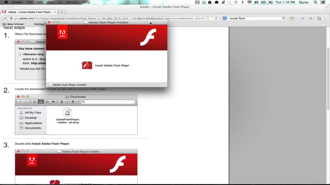 install adobe flash player plugin mozilla firefox