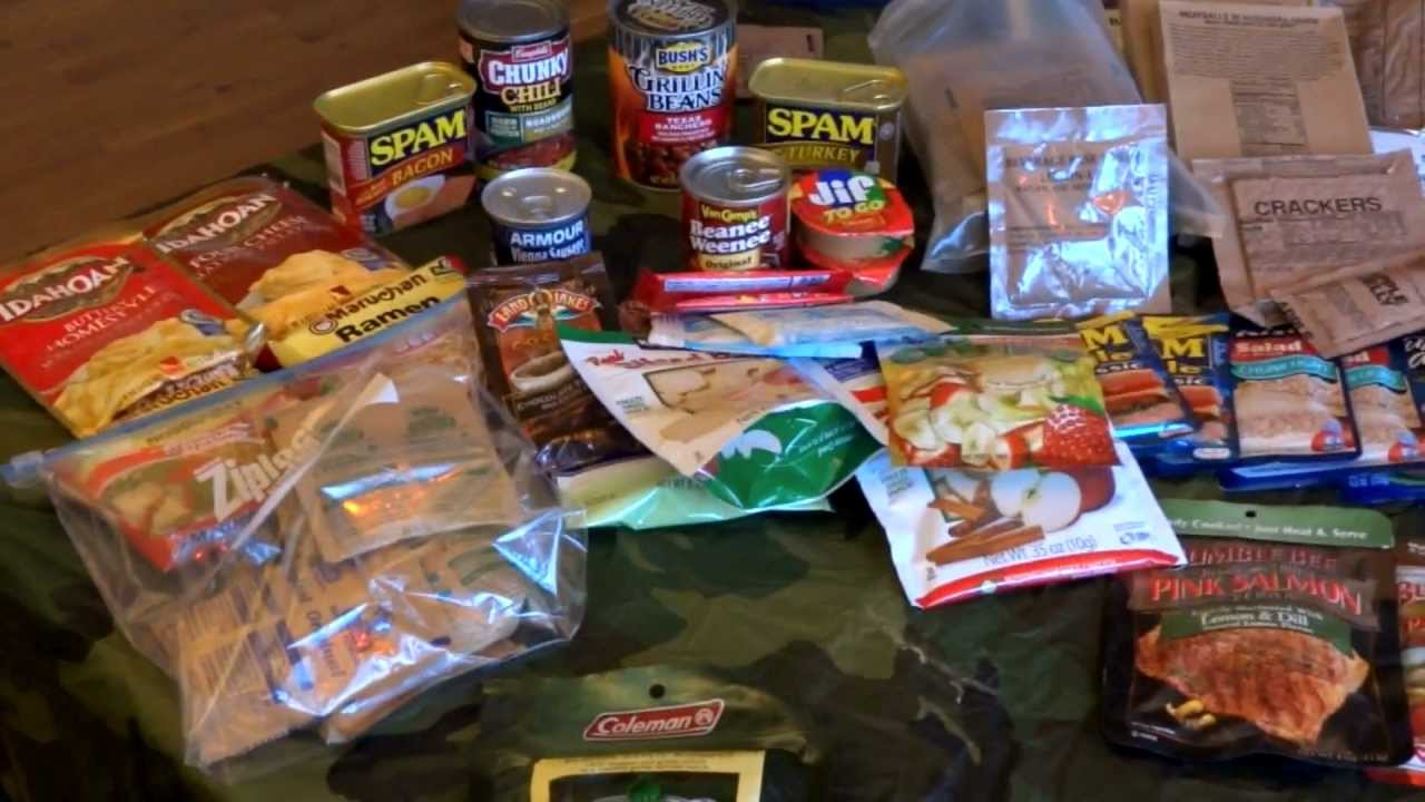 Camping Backpacking Survival Food Ideas And Overview