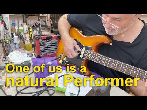 Fender Performer Strat USA set up