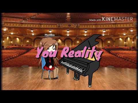 【Doki Doki Literature Club】You Reality animation【Gacha Studio】