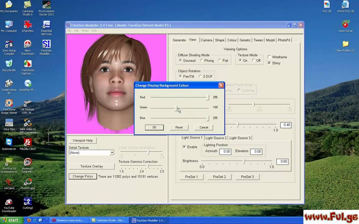 FaceGen Modeller 3 4 Free