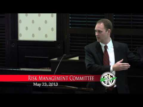 Risk Management Committee - May 22, 2013