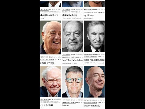 TOP 100 RICHEST PEOPLE IN THE WORLD 2019 #Forbes
