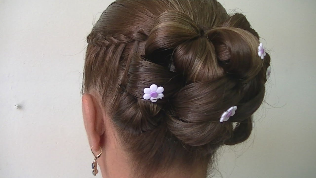 Peinado con bucles youtube - Como realizar peinados ...