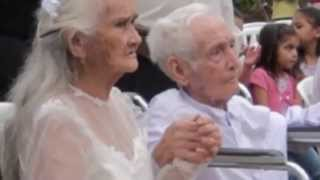 The 40-year engagement: 103-year-old man marries his 99-year-old bride in Paraguay