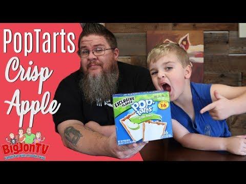 Walmart Exclusive Crisp Apple PopTarts || Taste Test Tuesday