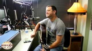 "Wade Bowen performs ""Trucks"" live with Eric Raines and Rita Ballou on KOKEFM"