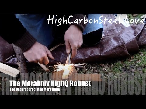 The Morakniv HighQ Robust - The Underappreciated Mora Knife