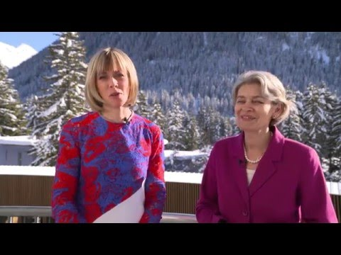 Davos 2016 Hub Culture Interview w Irina Bokova, Director-General of UNESCO