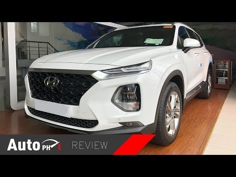 2019 Hyundai Santa Fe GLS CRDi - Exterior & Interior Review (Philippines)