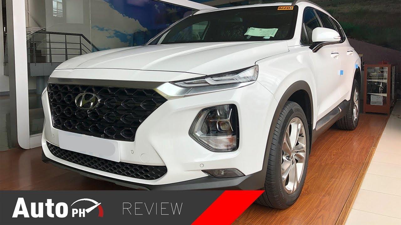 2019 Hyundai Santa Fe Gls Crdi Exterior Interior Review Philippines