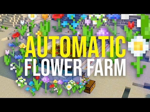 How to Build a Flower Farm in Minecraft (Simple & Easy!)