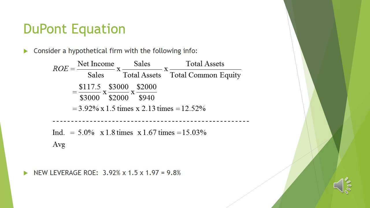 what is the dupont equation Use the extended dupont equation to provide a summary and overview of company'sfinancial condition as projected for 2014 what are the firm's major strengths andweaknesses - 1099046.