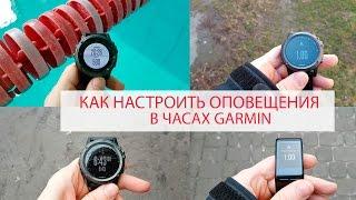 Як налаштувати оповіщення в годинах Garmin Fenix 3 HR